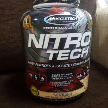 بروتين مكمل غذائي نيترو تيك