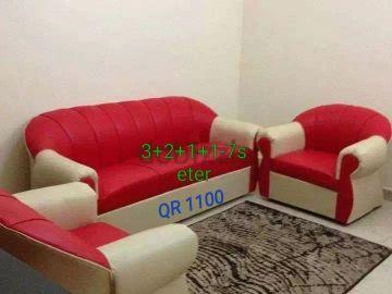 brand new 7seter sofas for sell QR 1100