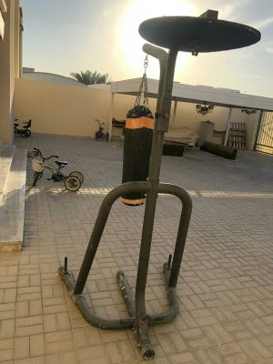 punching bag and stand