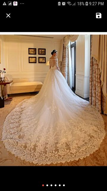 gown brand new for wedding