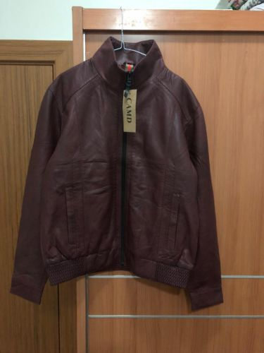 معطفnewجلد ذو علامة تجاريةXL / L