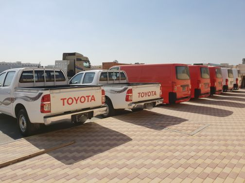 Company's vehicles