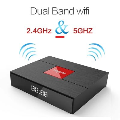 Tvbox + Receiver 3G/64G Wi-Fi