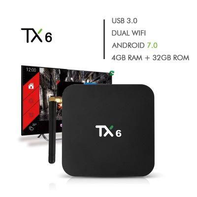 Tvbox 4G/32G Wi-Fi 5G Bluetooth USB3.0/2