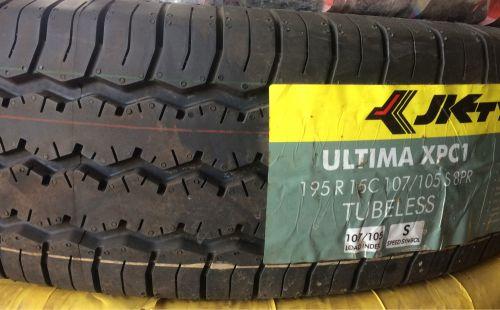 JK INDIA new tyre 195-15