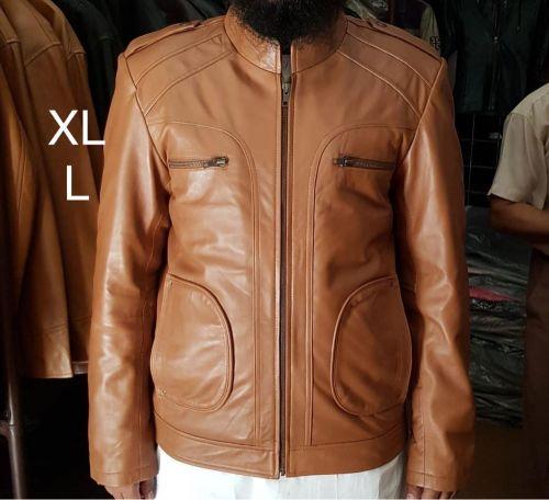 معطف newجلد بتصميم رائع مقياس XL