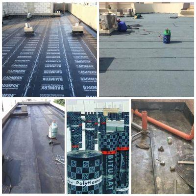 اعمال عزل مائي  Waterproofing works