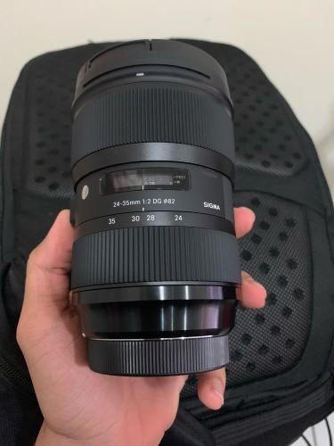 Sigma Art 24-35mm F2 for Canon