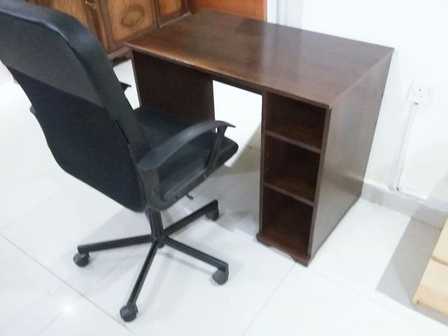 table with chair :