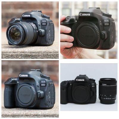 80d with lens 18 -55 stm