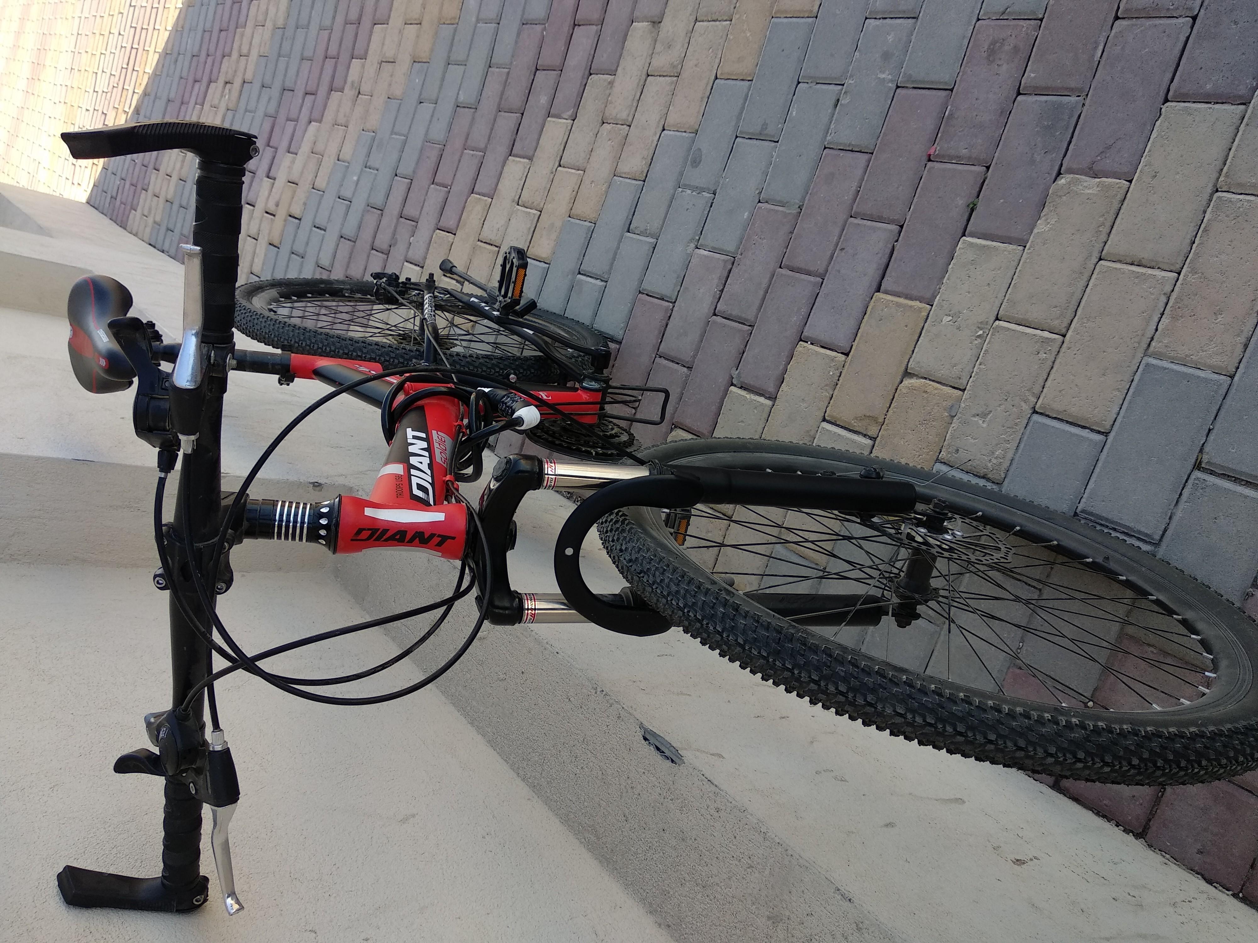 New foldable bike