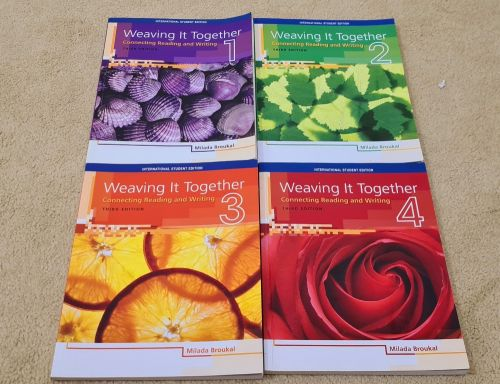Weaving it together collection 4 books