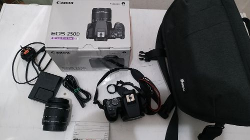 new canon carema urgent selling.i have an emergency needed money.camera not used only 5days from the I buy.kindly you can call me all whatsapp me through these number +97470474159